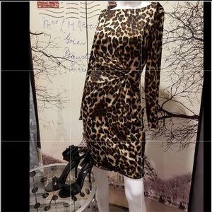 "Sexy leopard dress  ""size small 🧡🍂🍁"